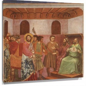 Lienzo Christ before Caiaphas